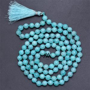 Meditation Amazonite 108 Japa Mala